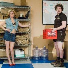 Seth Rogen ed Elizabeth Banks sul set di un porno nella commedia Zack & Miri