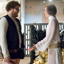 Seth Rogen in una scena del film Zack and Miri