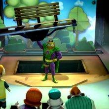 Garzooka in una sequenza di Garfield il supergatto