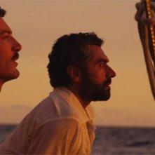 Paolo Mazzarelli e David Coco in una scena del film Nauta