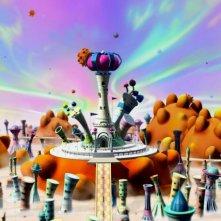 Una fantasiosa immagine dal film Garfield il supergatto