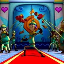 Una immagine tratta dal film Garfield il supergatto