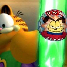 Una scena con il protagonista di Garfield il supergatto