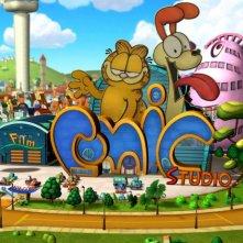 Una scena dal film Garfield il supergatto