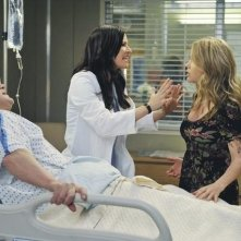 Chyler Leigh, Jeff Perry ed Alexa Havins nell'episodio P.Y.T. (Pretty Young Thing) di Grey's Anatomy