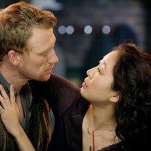 Kevin McKidd e Sandra Oh nell'episodio I Will Survive di Grey's Anatomy