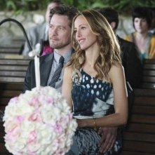 Kim Raver e James Tupper nell'episodio White Wedding di Grey's Anatomy
