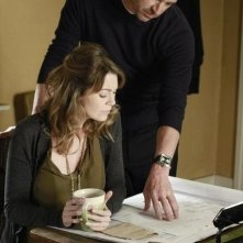Patrick Dempsey ed Ellen Pompeo nell'episodio Not Responsible di Grey's Anatomy