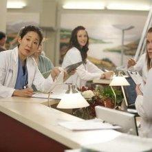 Una scena dell'episodio Unaccompanied Minor di Grey's Anatomy