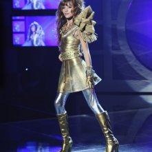 Bella Thorne in una scena della serie A tutto ritmo