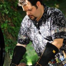 Matteo Tassi, il 'Serial Griller' del canale Gambero Rosso, al barbeque