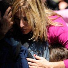 Valeria Bruni Tedeschi in un'immagine del film Tutti per uno