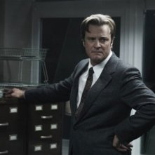 Colin Firth in un'immagine di Tinker, Tailor, Soldier, Spy