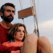 David Coco ed Elena Di Cioccio in una immagine del film Nauta