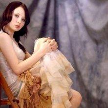 Emily Browning sul set del film Sleeping Beauty, di Julia Leigh