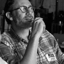 Il regista Michel Hazanavicius sul set del suo film The Artist (2011)