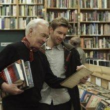 Christopher Plummer ed Ewan McGregor padre e figlio nel film Beginners