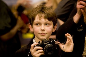 Gaspard Meier, piccolo protagonista del film Monsieur Papa