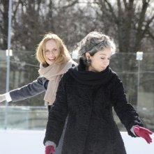 Hannelore Elsner e Juliane Köhler in una immagine del film Das Blaue vom Himmel