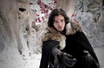 Kit Harington in una scena dell'episodio Your Win or You Die di Game of Thrones
