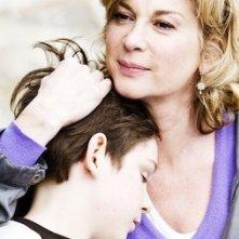 Michèle Laroque con il piccolo Gaspard Meier nel film Monsieur Papa