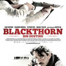 Poster spagnolo per Blackthorn