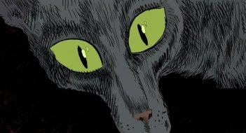 Una immagine del protagonista de Le chat du rabbin