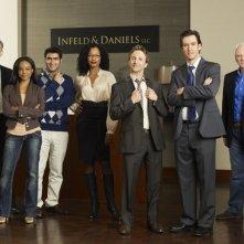 Franklin & Bash: una foto promozionale del cast della serie