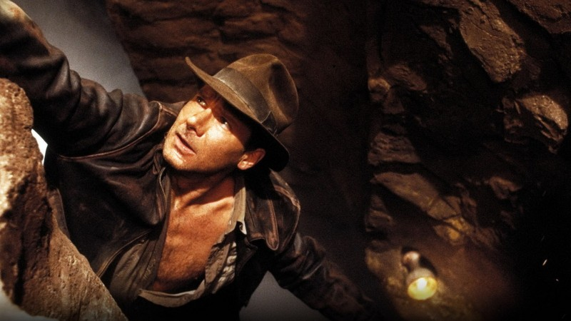Harrison Ford in una scena di indiana Jones e l'ultima crociata