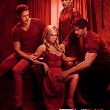 Un poster della stagione 4 di True Blood, in onda in USA dal 26 Giugno 2011