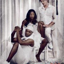 Uno dei poster della stagione 4 di True Blood, in onda in USA dal 26 Giugno 2011