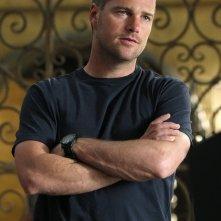 G. Callen (Chris O'Donnell) in una scena dell'episodio Imposters di NCIS: Los Angeles
