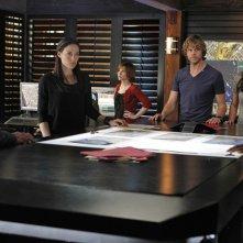 La squadra in una sequenza dell'episodio Familia di NCIS: Los Angeles