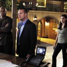 LL Cool J, Chris O'Donnell e Daniela Rua nell'episodio Familia di NCIS: Los Angeles
