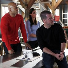 LL Cool J, Chris O'Donnell e Daniela Ruah nell'episodio Plan B di NCIS: Los Angeles