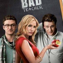 Nuova locandina di Bad Teacher: una prof da sballo