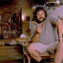 Peter Jackson sul set de Il signore degli anelli - La compagnia dell'anello nel 1999