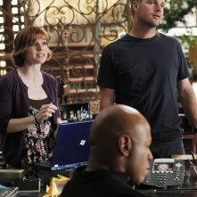 Renée Felice Smith, Chris O'Donnell e LL Cool J nell'episodio Imposters di NCIS: Los Angeles