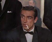 Sean Connery in una scena di Agente 007, licenza di uccidere