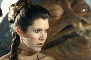 Carrie Fisher è di nuovo Leia Organa ne Il ritorno dello jedi