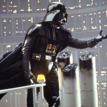 Darth Vader in una celebre scena de L'impero colpisce ancora