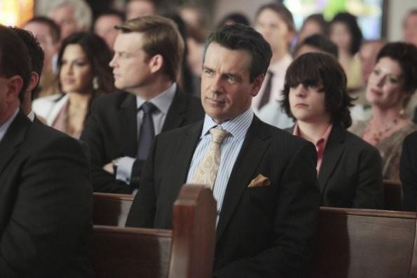 David James Elliott In Una Scena Del Pilot Di Good Christian Belles 205585