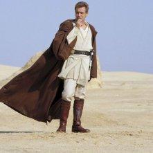 Ewan McGregor è il giovan Obi-Wan Kenobi ne La minaccia fantasma