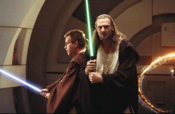 Ewan McGregor e Liam Neeson sotto assedio ne La minaccia fantasma