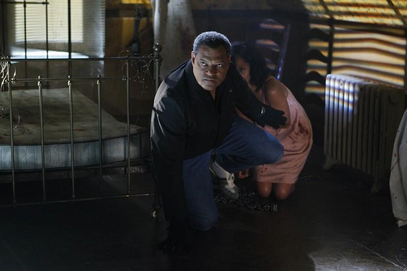 Laurence Fishburne Difende Ellen Ross Nell Episodio In A Dark Dark House Di Csi Scena Del Crimine 205480
