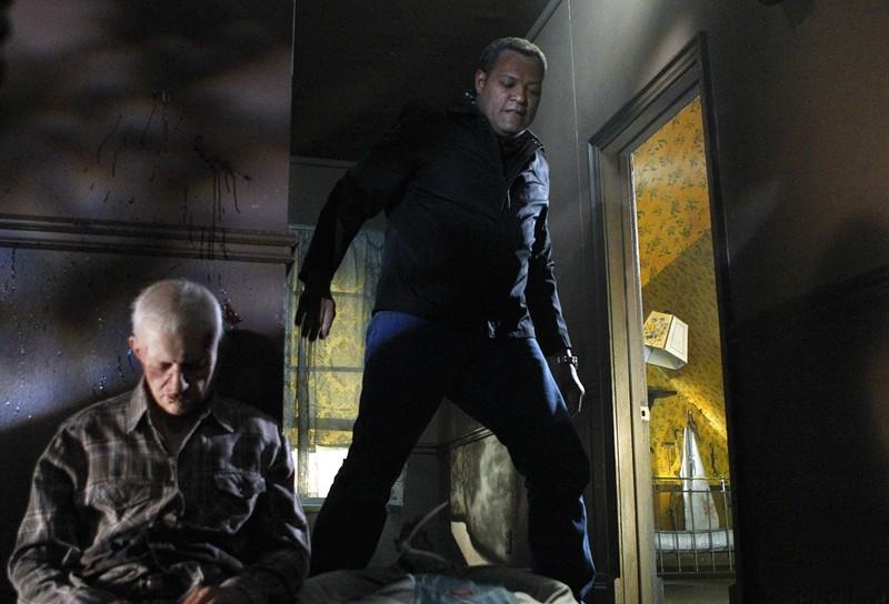 Laurence Fishburne In Un Momento Dell Episodio In A Dark Dark House Di Csi Scena Del Crimine 205481