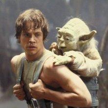 Mark Hamill in una scena de L'impero colpisce ancora
