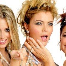 Martina Stella, Vittoria Belvedere e Camilla Ferranti nella fiction Angeli e diamanti