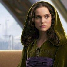 Natalie Portman in una scena del film La vendetta dei Sith