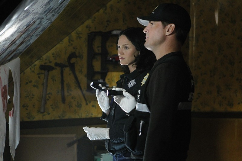 Sara Jorja Fox E Nick George Eads Nell Episodio In A Dark Dark House Di Csi Scena Del Crimine 205472